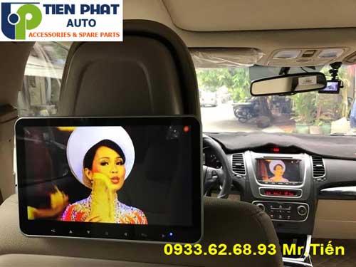 Chuyên: Lắp Màn Hình Gối Đầu Ô Tô Cho Hyundai Sonata Lắp Đặt Tận Nơi