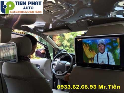 Chuyên: Lắp Màn Hình Gối Đầu Ô Tô Cho Mitsubishi Outlander Lắp Đặt Tận Nơi