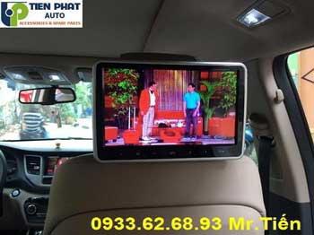 Chuyên: Lắp Màn Hình Gối Đầu Ô Tô Cho Mitsubishi Pajero sport