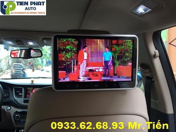 Chuyên: Lắp Màn Hình Gối Đầu Ô Tô Cho Mitsubishi Triton Lắp Đặt Tận Nơi
