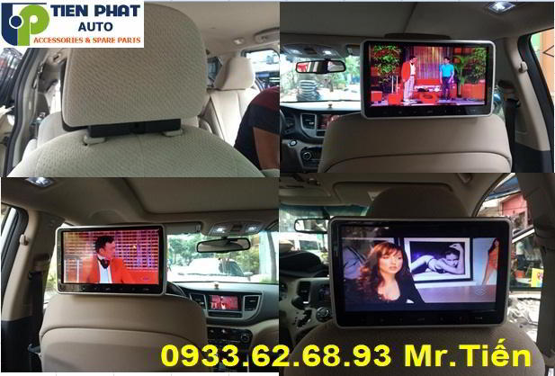 Màn Hình Gối Đầu Kẹp Gối 10 Inch Cho Nissan Navara Tại Huyện Hóc Môn